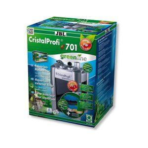 פילטר חיצוני מקצועי בקצב של 700 ליטר / שעה- CRISTALPROFI E701 GREENLINE- JBL