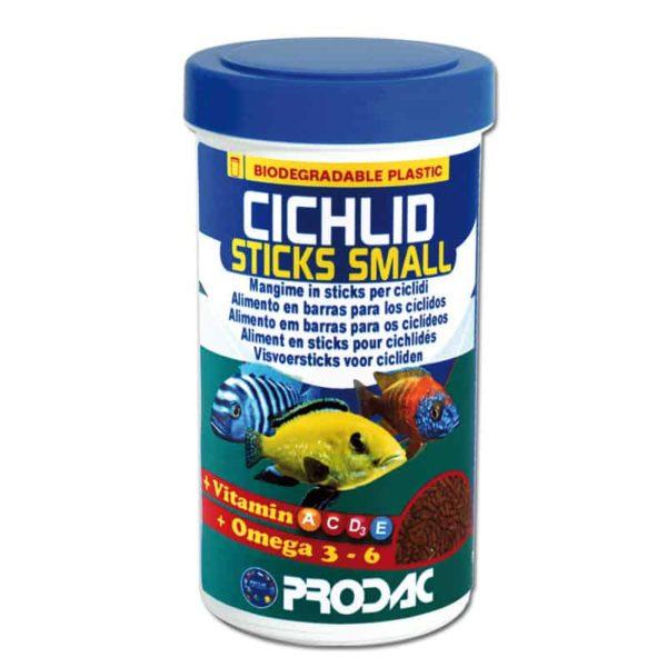 מזון ציקלידים 250 מל- Cihlid sticks small- PRODAC