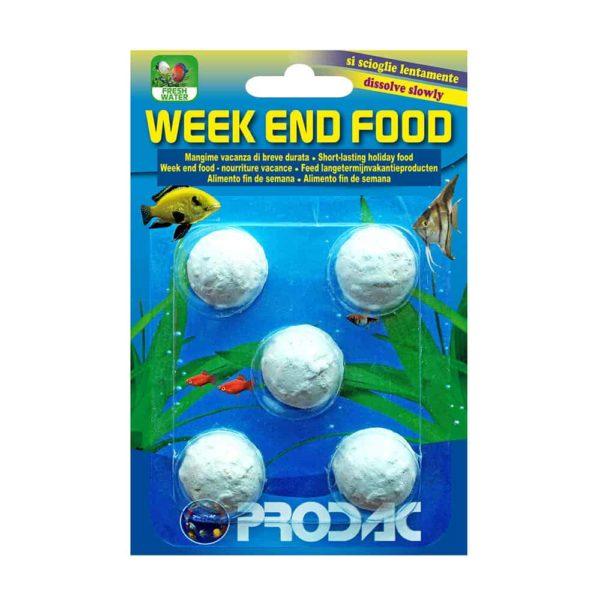 מזון חופשה קצרה- WEEK END FOOD- PRODAC