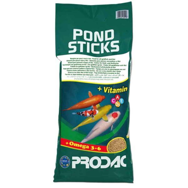 שק מזון דגי בריכה- POND STICKS- PRODAC