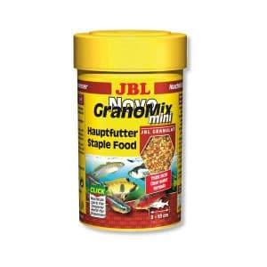 מזון פתיתים עשיר לדגים טרופיים קטנים NOVOGRANOMIX MINI JBL