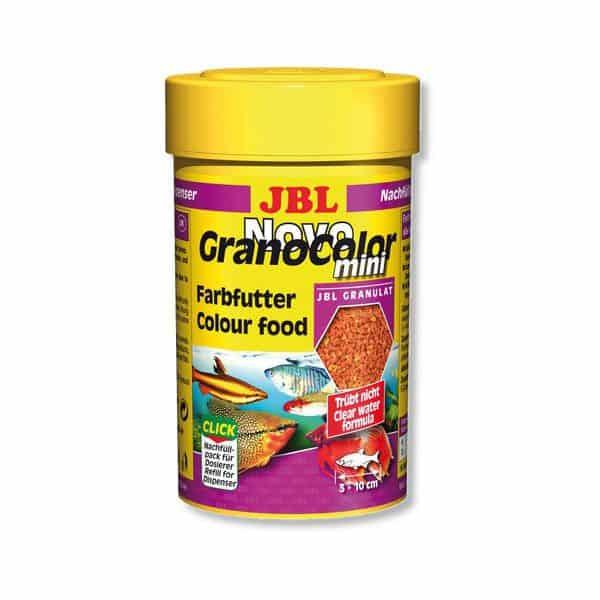 מזון פתיתים מחזק צבע לדגים טרופיים קטנים NOVOGRANOCOLOR MINI JBL