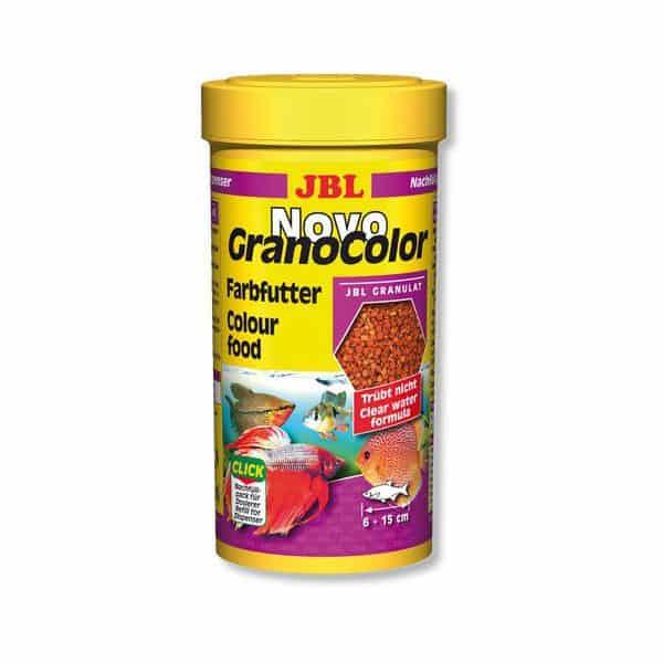 מזון פתיתים מחזק צבע לדגים טרופיים NovoGranocolor JBL