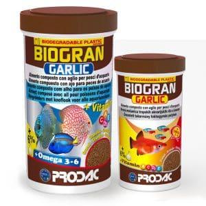 מזון עם תוספת שום BIOGRAN GARLIC PRODAC
