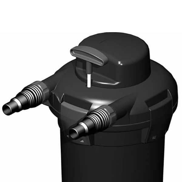 סט מושלם (פילטר-צינור- משאבה) לבריכות קטנות- PONDOPRESS SET 5000