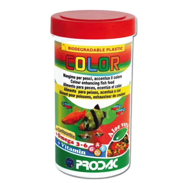 מזון מחזק צבע לדגים טרופיים- Color-PRODAC