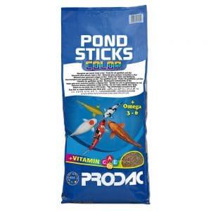 שק מזון מחזק צבע לדגי בריכה- Pond stick color- PRODAC