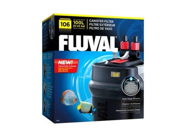 פילטר חיצוני מקצועי בקצב של 550 ליטר/ שעה- 106 FLUVAL