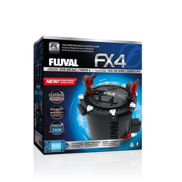 פילטר חיצוני עוצמתי ומקצועי בקצב של 2650 ליטר/ שעה- FX4- FLUVAL