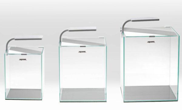 סט אקווריום קוביה קלאסי לשרימפסים- ShrimpSet Smart- Aquael