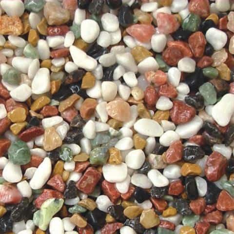 חצץ צבעוני טבעי 10 קג 4-6 ממ