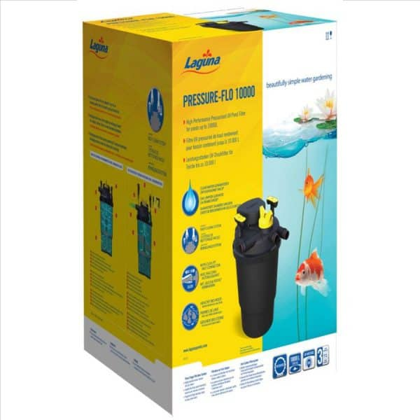 פילטר חיצוני לבריכת נוי בינונית- Pressure-Flo10000- Laguna