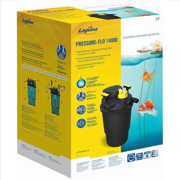 פילטר חיצוני לבריכת נוי בינונית- Pressure-Flo14000- Laguna