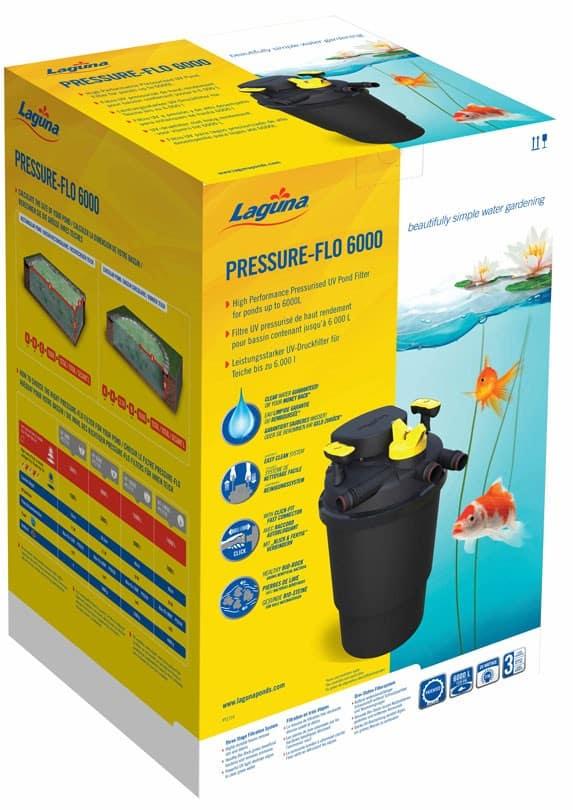 פילטר חיצוני לבריכת נוי קטנה- Pressure-Flo6000- Laguna